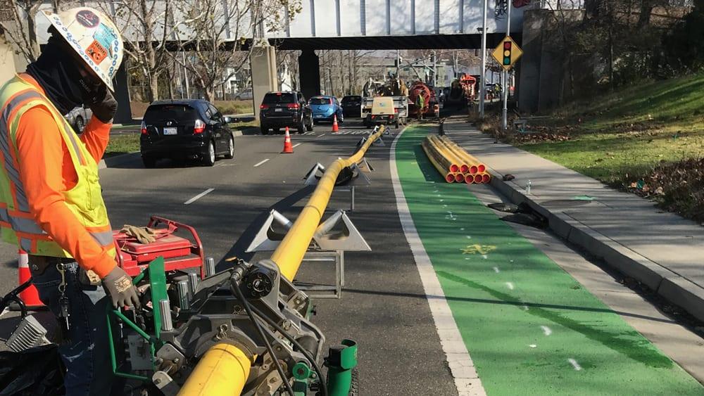 VPC Aldyl-A Pipeline Installation