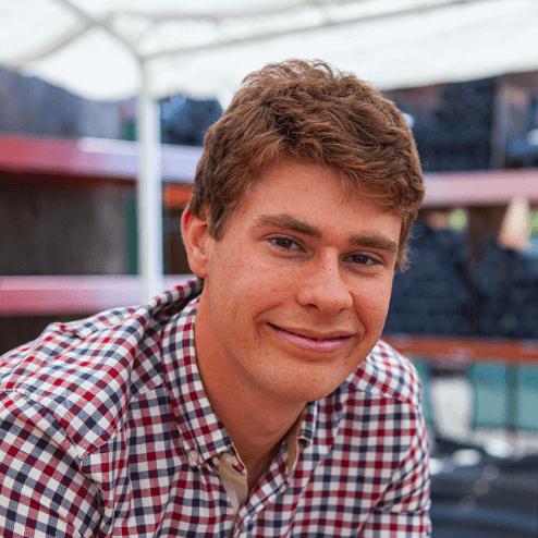 Photo of intern, ANDERS BJORK