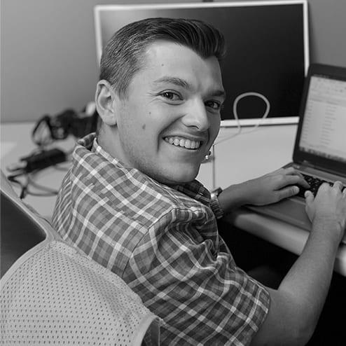 Photo of intern, Zachary Arrington