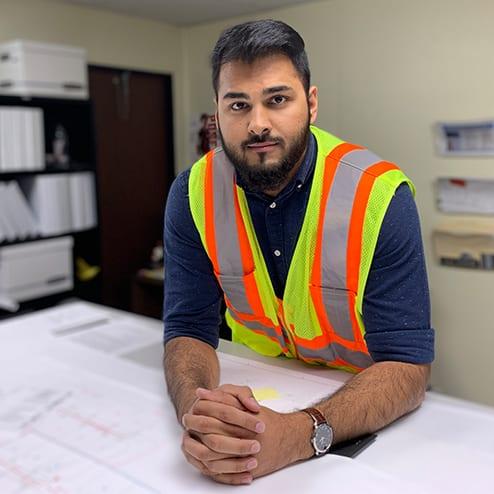 Photo of intern, Farhan Khan