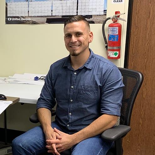 Photo of intern, Daniel Villarreal
