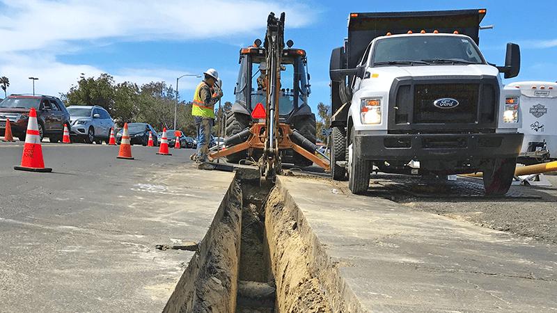 VPC Gas Distribution Pipeline Installation